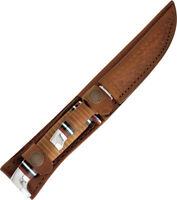 Case XX Twin Finn 2pc Small Hunter 379 & Hunter 381 Fixed Knives w/ Sheath 372