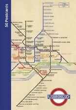 50 Postcards Fron The London Underground *FREE P&P*