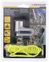 Dunlop Bremsscheibenschloss Scheibenschloss Motorradschloss Motorrad Roller NEU
