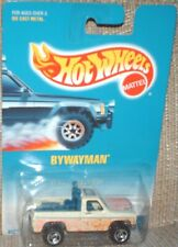 Hot Wheels 1997 #220 Byway Man (Chevy 4x4 Truck) white,blue int ,excellent card