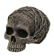 Tree Spirit Dryad Skull Collectible Figurine Desktop Home Decor 4.5H