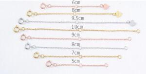 B24 Extension Chain Extenderkette Sterling Silver 925 Various Lengths