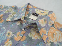 "DOLCE & GABBANA Mens Shirt 🌍 Size 36/50 (42"" CHEST) 🌎 RRP £295+ 📮 FLORAL D&G"