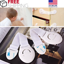 12 Pack Baby Infant Child Safety Lock Latch Cabinet Drawers Door Cupboard Fridge