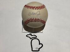 AUTO Cal Ripken Jr 1993-94 Brown OAL Baseball Baltimore Orioles Signed HOF