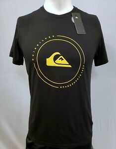 New Quiksilver Men's Short Sleeve T-Shirt, Multiple Colors, S-XL, Slim Fit
