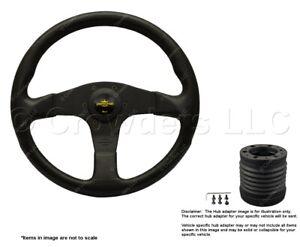 Nardi Blitz 330mm Steering Wheel + MOMO Hub for Hummer H2 8474.32.2001 + 4513