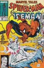 Marvel valle #227 ft Spider-Man & Iceman fotográficamente Amazing Spider-Man # 92 us