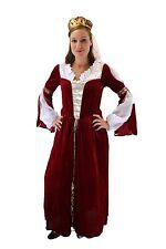 Aufwändiges Kostüm Damen Königin Prinzessin Adelsdame Adelige Mittelalter 42/ M