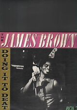 JAMES BROWN - doing it to death LP