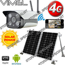 4G Security Camera Solar Farm House GSM IP Alarm System Wireless Remote Monitor