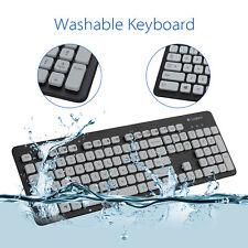 Logitech K310 Tough Washable Keyboard for PC Laptop Comfortable USB Slim