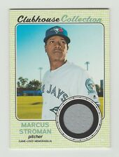2017 Topps Heritage Marcus Stroman Clubhouse Collection Game Worn Relic TORONTO