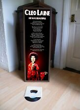 CLEO LAINE HE WAS BEAUTIFUL PROMOTIONAL POSTER LYRIC SHEET,THEATRE,JAZZ,BLUES