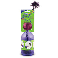 Petsafe Tug a Jug Busy Buddy Dog Treat Dispensing Bottle Rope Toy -Small