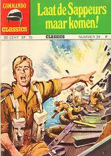 COMMANDO CLASSICS 29 - LAAT DE SAPPEURS MAAR KOMEN (1975)