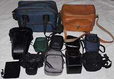 Lot of Camera Bags - Carry Cases, Lens Holders - Hard & Soft cases, SLR etc