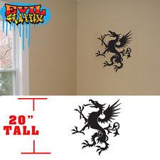 Martial Arts griffon dragon ,wall decals martial arts stickers, dragon stickers