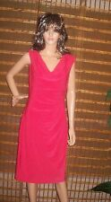 Ralph Lauren cocktail gown evening dress CORAL RED size 12 NWT