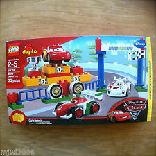 Disney PIXAR Cars DUPLO SHU TODOROKI WORLD GRAND PRIX set 5839 35-piece McQUEEN