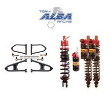 Banshee Chromoly  Alba A Arms +2 +1  Elka Legacy Stage 3 Front Rear Shocks