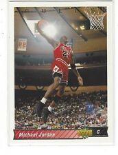 1994-95 UPPER DECK BASKETBALL HE'S BACK REPRINTS MICHAEL JORDAN #23 - 1992-93