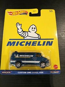 HOT WHEELS CUSTOM GMC PANEL VAN MICHELIN SPEED GARAGE 1/64 DIECAST CAR NEW
