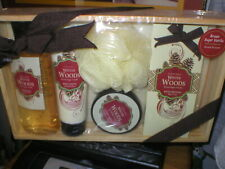 New Bath Collection Winter Woods Gift Collection Brown Sugar Vanilla