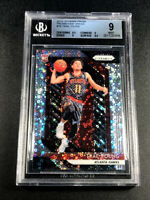 TRAE YOUNG 2018 PANINI PRIZM #78 FAST BREAK REFRACTOR ROOKIE RC BGS 9 HAWKS (A)