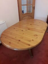 Ducal Pine Oval folding dining table - Used