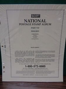 Scott US National 2010-2015 Supplement for Stamp Album collection pt. 7 #100NTL7