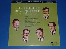 """THE FLORIDA BOYS QUARTET SINGS """"ON THE WINGS OF A DOVE"""" - GOSPEL RECORD LP - EX"""