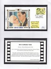 GB 1995 Greetings Stamps Benham silk Series The Kiss (9) Unadressed FDC