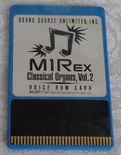 Korg Sound Source M1REX ROM Card - 'Classical Organs' M1REX ROM Card