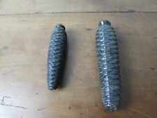 lot de deux anciens poids d horloge coucou pendule foret noire