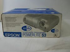 New Epson Powerlite S3 Multimedia Projector