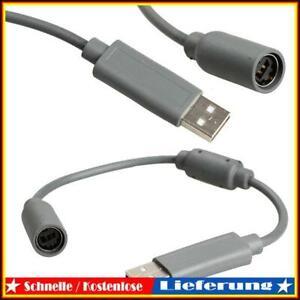 Converter Adapter Kabelgebundener Controller PC USB-Anschlusskabel für Xbox 360