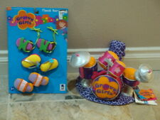 GROOVY GIRLS DRUM SET & SHOES SET~MANHATTAN TOY CO NEW FAST SHIP
