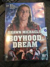 Shawn Michaels Boyhood Dream WWE WWF DVD 2004
