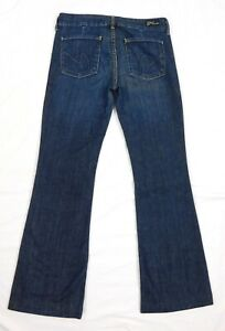 Citizens of Humanity Faye Low Waist Wide Leg Women's Dark Blue Jeans W27 x L31