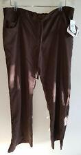 Grey's Anatomy 5 pocket scrub pants dark brown truffle style 4232 size XL NEW