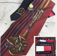 Vintage Tommy Hilfiger Tie NWT Hiking Climbers Sport Rare Collectors Neckwear