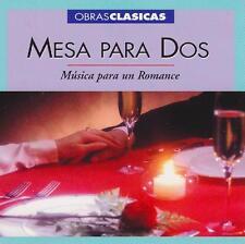 VARIOUS ARTISTS - OBRAS CLASICAS MESA PARA DOS: MUSICA PARA UN ROMANCE - CD,2001
