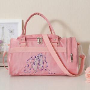 Small Ballet Dance Bag For baby Girls gymnastics Bag For Kids Duffel Bag Pink