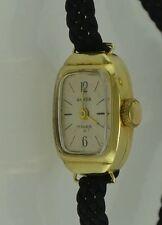 ANKER 17 Rubis Damenarmbanduhr / Handaufzug / 585er - 14K Gold