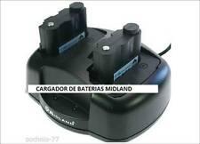 CARGADOR EXTERIOR DE BATERIAS MIDLAND TIPO PB-ATL/G7 BATT5R G7 G9 GXT1000 1050