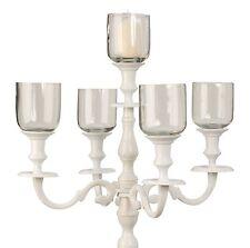Moderne Deko-Kerzenständer & -Teelichthalter aus Glas Stumpenkerze