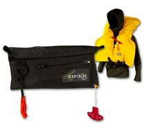 Inflatable Life Vest PFD Body Glove Pouch, Coast Guard approved SUP, Kayak