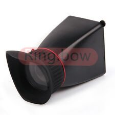 NEW Standard 3 inch 2.8x LCD Viewfinder For Nikon Canon Sony Pentax Camera