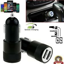 Car Charger 3.1A LED Double USB Alloy Universal Fast Charging Samsung iPhone HTC